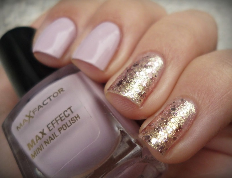 Max Factor #30 Chilled Lilac and Maybelline Brocades #220 Swatch by Romana