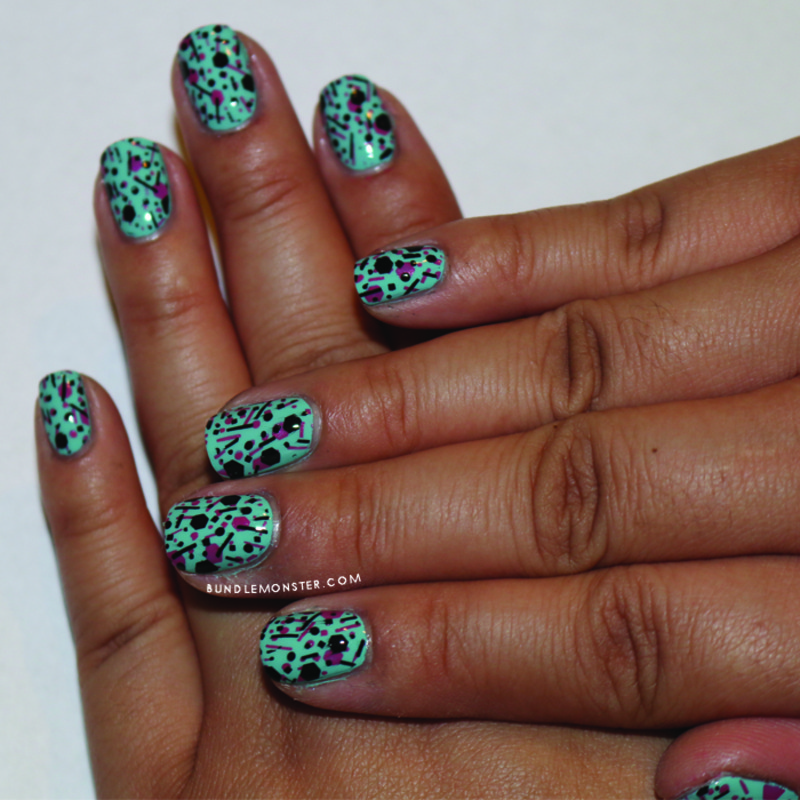 Glitter Extravaganza nail art by Bundle Monster
