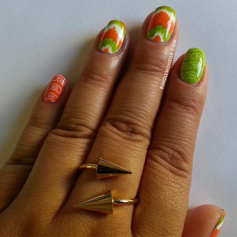 Feeling lucky little leprechaun? nail art by Bundle Monster