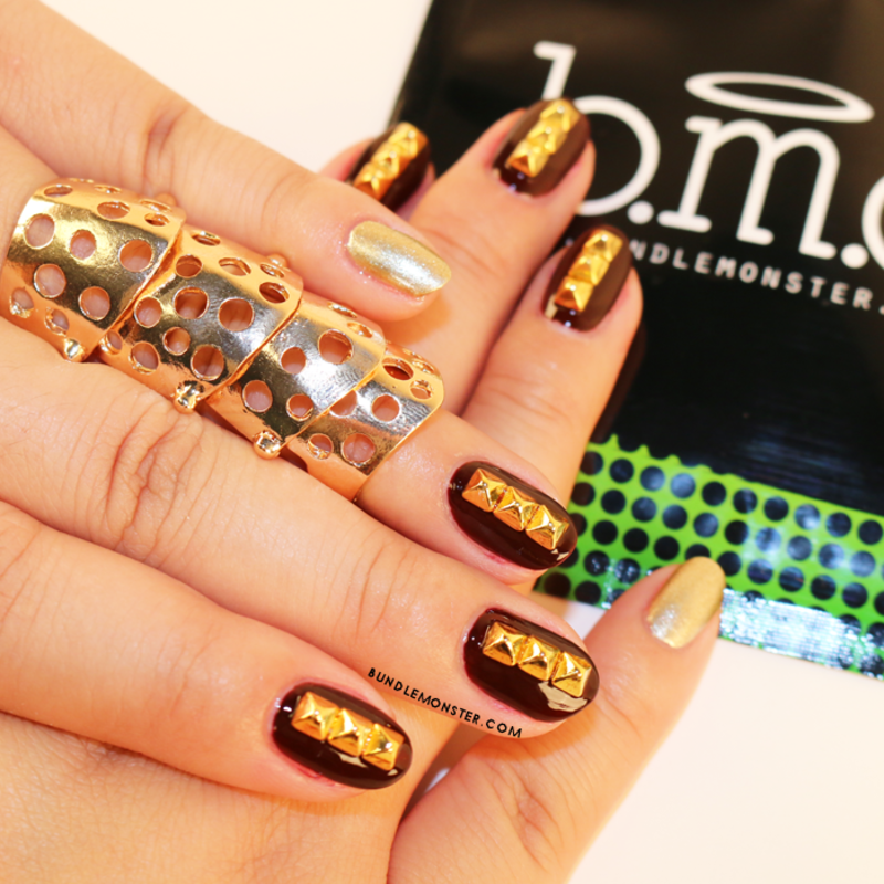 Ready for Battle! nail art by Bundle Monster