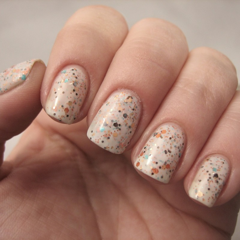 The Polish Bar Shiny Pebbles Swatch by Jennifer Collins