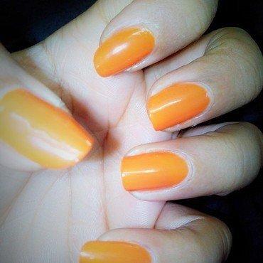 Orange Nails nail art by Nailfame