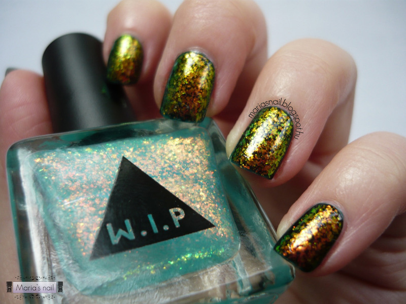 W.I.P. Mermaid and Orly Le Chateau Swatch by Maria