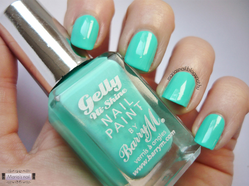Barry M Greenberry Swatch by Maria