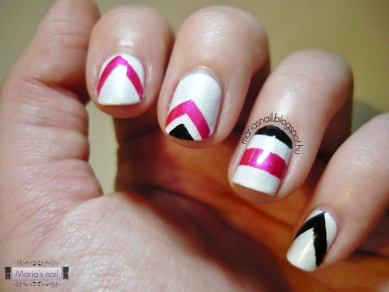 Fashion Monday Nr10 - Christian Siriano nail art by Maria