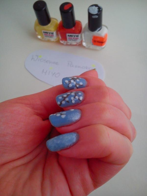 Spring nails nail art by Pulinka