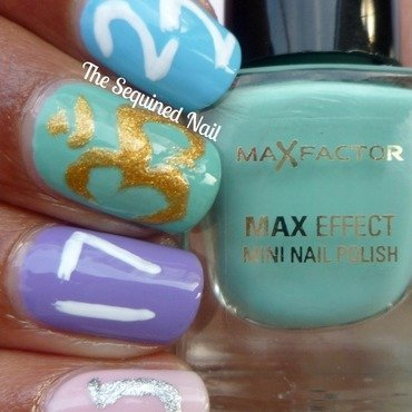 Lacquer Legion - Lucky nail art by TheSequinedNail