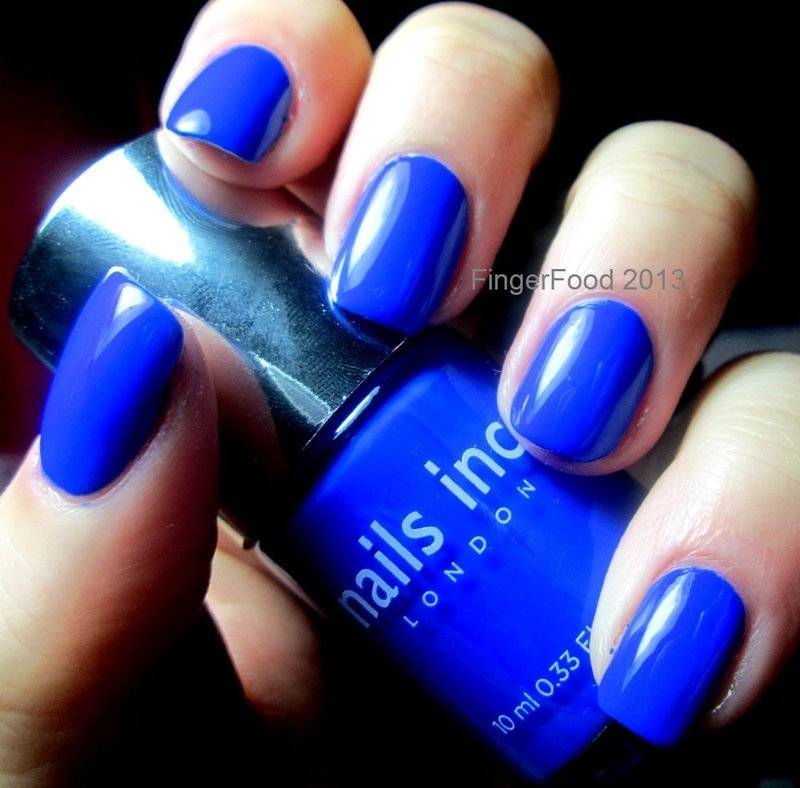 Nails Inc Baker Street Swatch by Sam