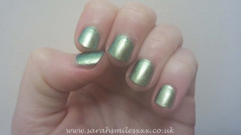 Barry M Arabian Swatch by Sarah Clarke