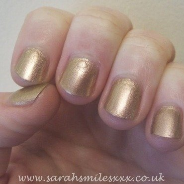 Barry M Caspian Swatch by Sarah Clarke