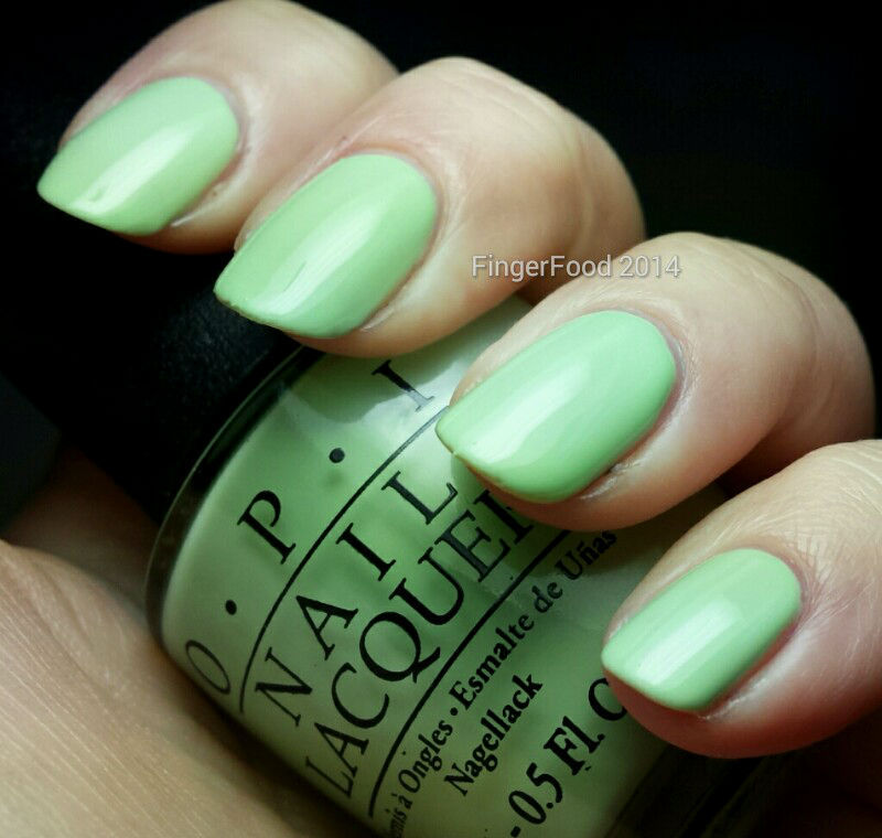 OPI Gargantuan Green Grape Swatch by Sam