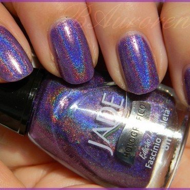 Jade fascinio violeta Swatch by BAurorenail