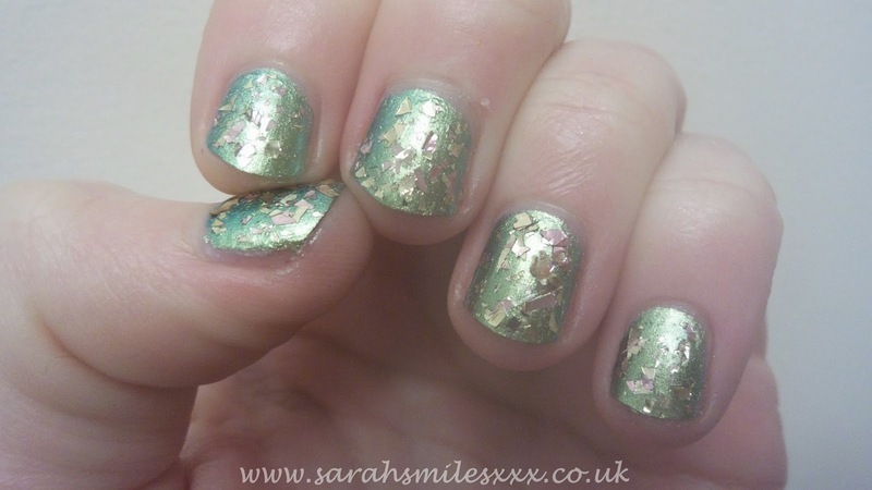 Barry M Treasure Chest Swatch by Sarah Clarke