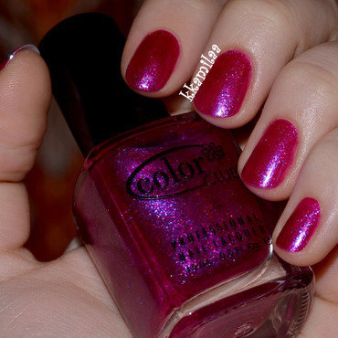 Color Club Ulterior Motive Swatch by Kamila