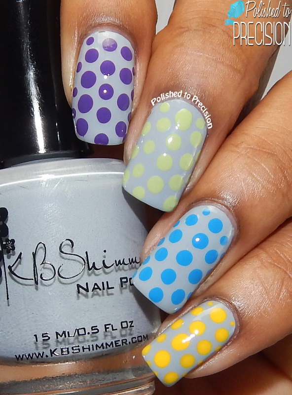 Spring Skittles Dotticure nail art by Tiffany  (Polished to Precision)