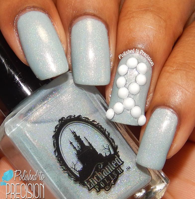 Autism Awareness Manciure nail art by Tiffany  (Polished to Precision)