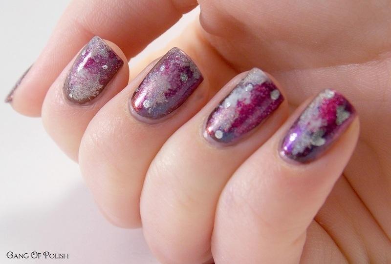 Happy Birthday Venuss nail art by Gang Of Polish