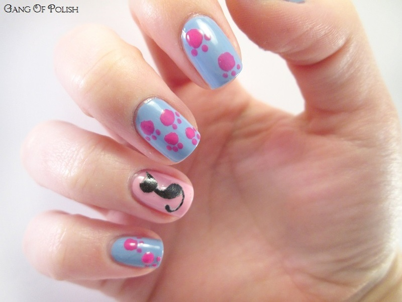 Happy Graoubirthday Pentagruelle ! nail art by Gang Of Polish