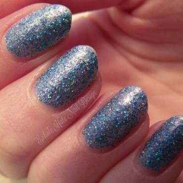 exhale hate nail lacquer mermaid tears Swatch by Courtney Haines