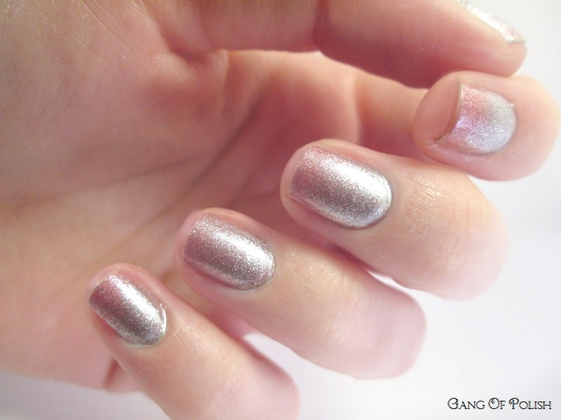 Princess Gradiant nail art by Gang Of Polish