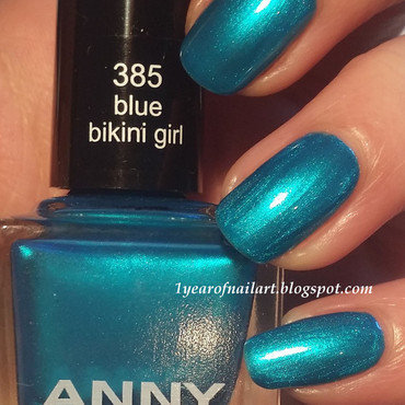 Swatch anny 385 blue bikini girl thumb370f