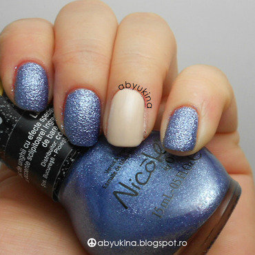OPI My Vampire is Buff and Nicole by OPI Blue-Berry Sweet on You Swatch by Aby