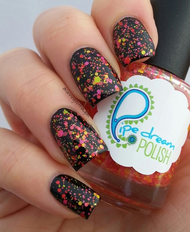 Pipe Dream Polish Whop Bam Boom Swatch by Debbie D