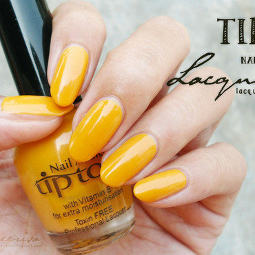 Tip Top Nail Addict Créme Brulee Swatch by Lacqueerisa