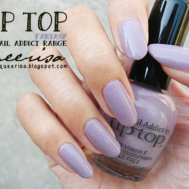 Tip Top Nail Addict Fantasy Swatch by Lacqueerisa
