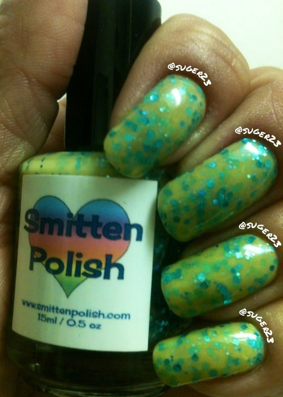 Smitten Polish Do I Make You Randy? Swatch by Genevieve  Clay-Poor