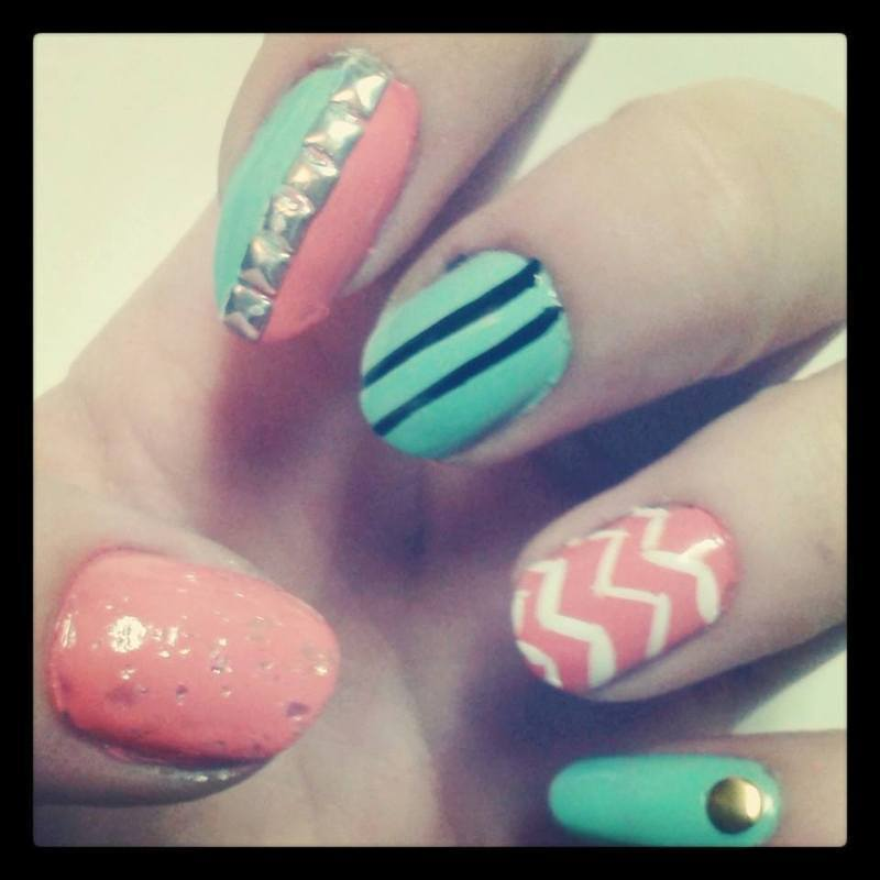 Just For Fun nail art by Ashley