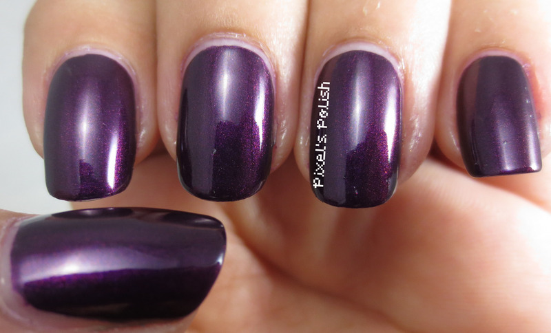 Beautifully Disney Diva Of The Deep Swatch by Pixel's Polish