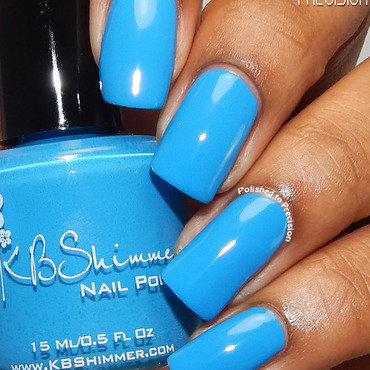 KBShimmer Sky Jinks Swatch by Tiffany  (Polished to Precision)