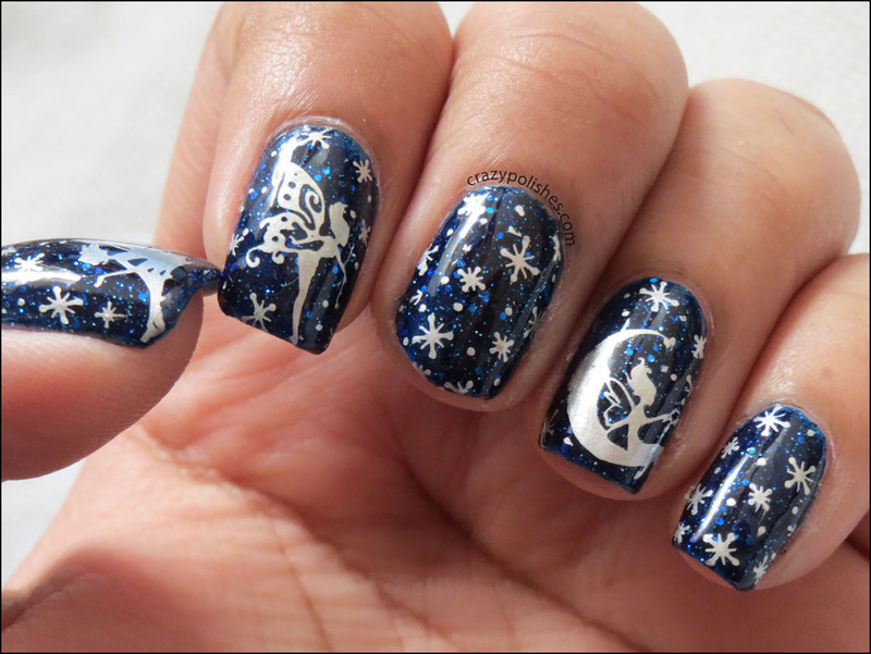 Fairies nail art by CrazyPolishes (Dimpal) - Nailpolis: Museum of ...