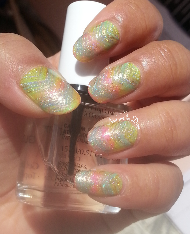 Welcome spring nail art by Divya Pandey