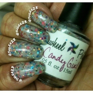 Candy Girl nail art by Genevieve  Clay-Poor