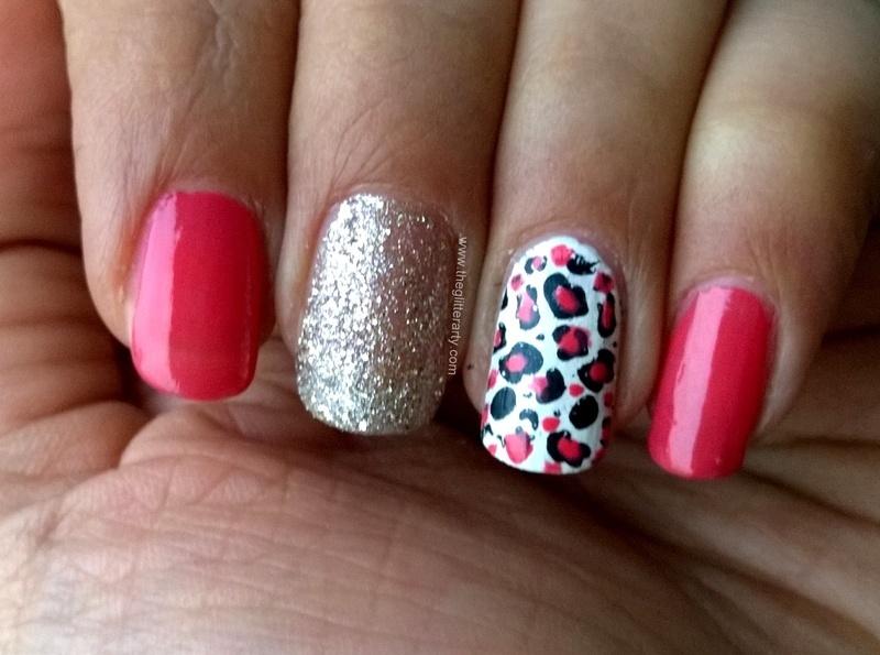 Leopard Accent Nail Art nail art by Avantika Dhir