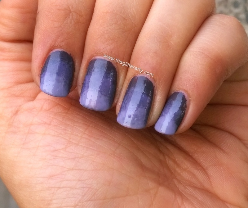 Ombre Nails nail art by Avantika Dhir