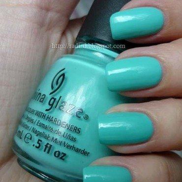 China Glaze Aquadelic Swatch by Radi Dimitrova