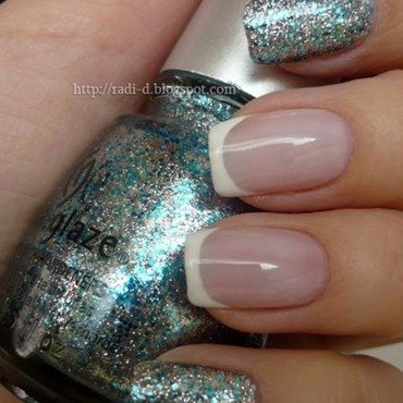 China Glaze Lorelei`s Tiara Swatch by Radi Dimitrova