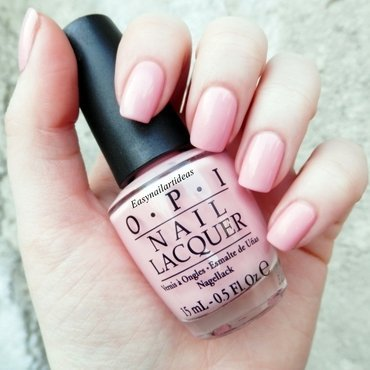 OPI pinking of you! Swatch by Easynailartideas