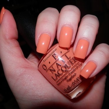 OPI where did Suzie's man-go? Swatch by Easynailartideas