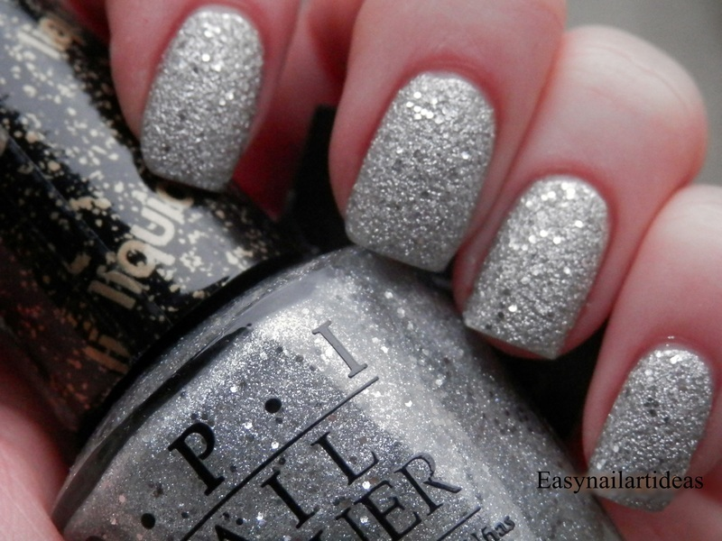 Opi Liquid Sand Its Frosty Outside Swatch By Easynailartideas