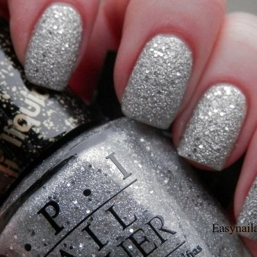 OPI Liquid Sand It's Frosty Outside Swatch by Easynailartideas