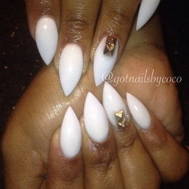 Pyramids  nail art by Gotnailsnailtique1