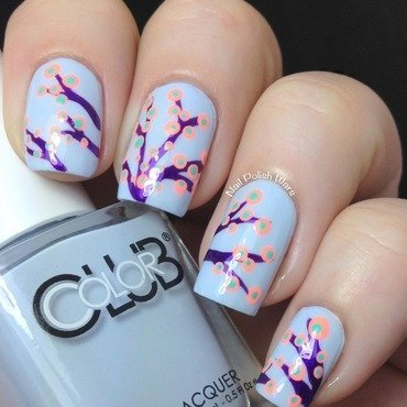 In Bloom nail art by Nail Polish Wars