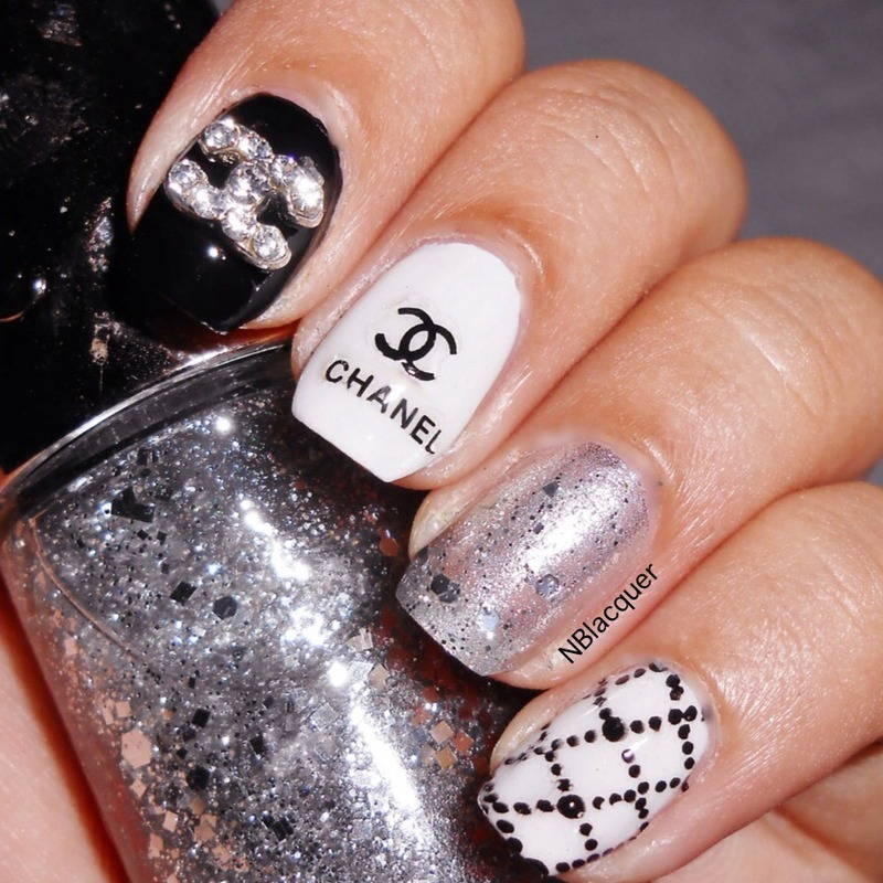 Designer's Inspired Nails nail art by Monica S.