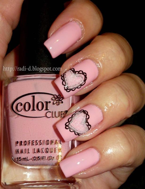 Color Club 955 Blushing Rose Swatch by Radi Dimitrova