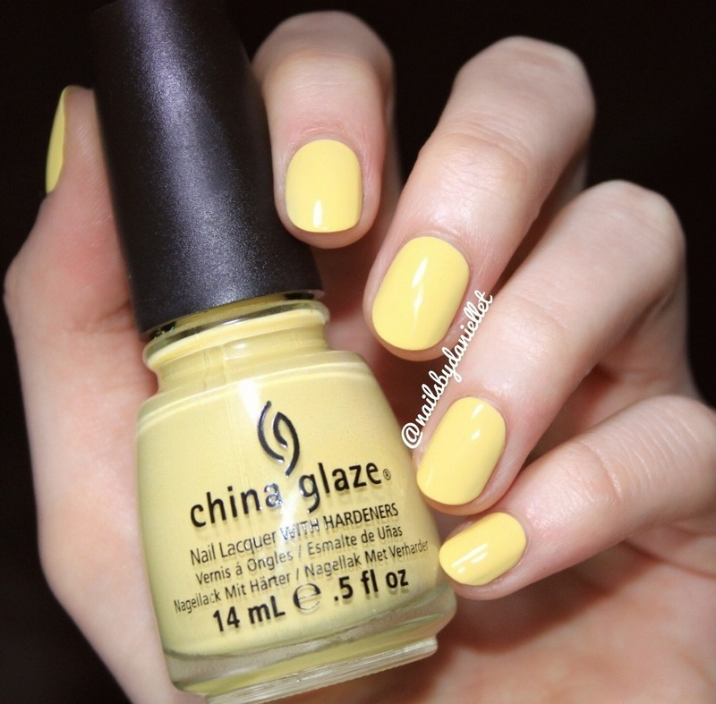 China Glaze Lemon Fizz Swatch by Danielle