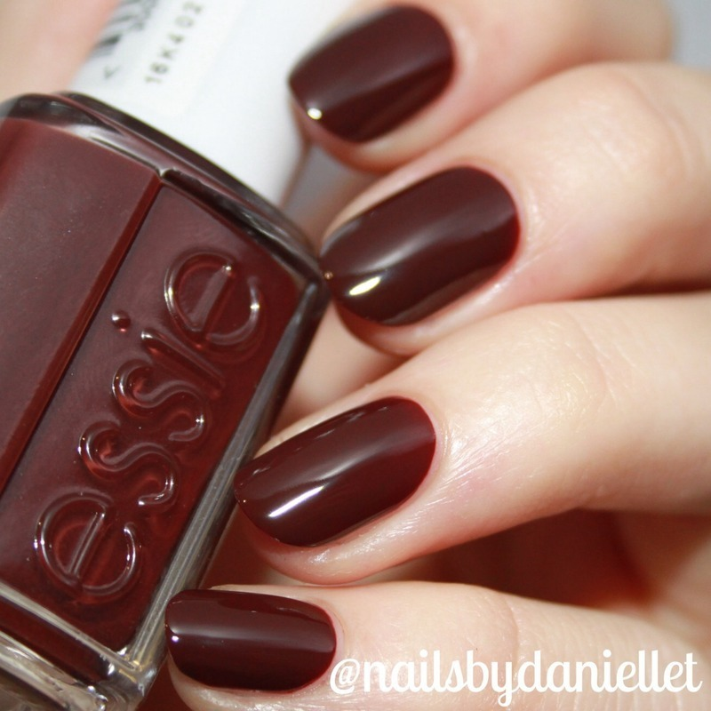 Essie chocolate cakes Swatch by Danielle